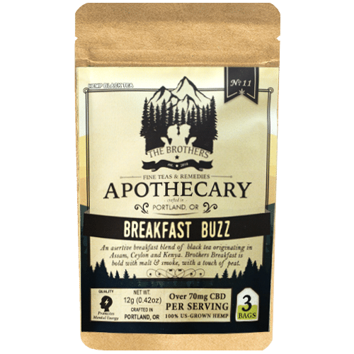 Brother's Apothecary Breakfast Buzz Hemp CBD Tea
