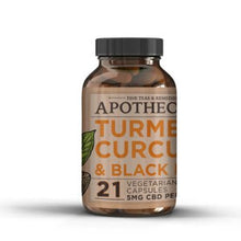 Load image into Gallery viewer, Brothers Apothecary Immunity Support | CBD + Turmeric Capsules