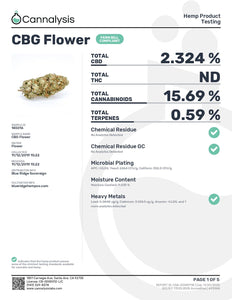 Brother's Apothecary CBG Flower