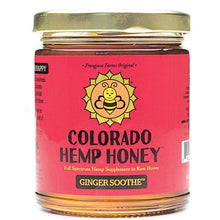 Load image into Gallery viewer, Colorado Hemp Honey - Ginger Soothe Honey