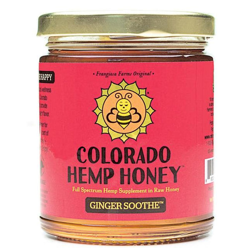 Colorado Hemp Honey - Ginger Soothe Honey