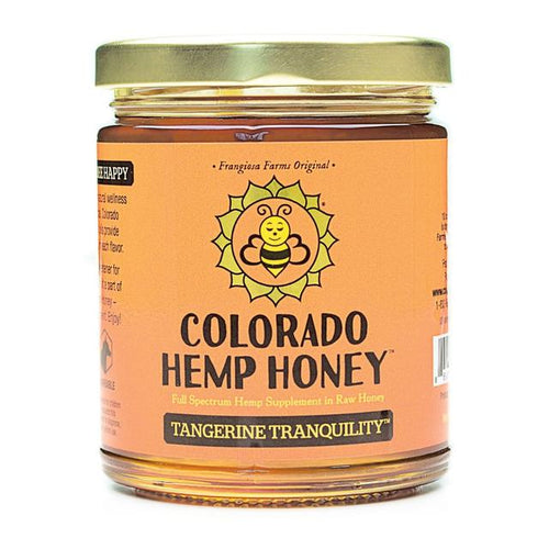 Colorado Hemp Honey - Tangerine Tranquility Honey