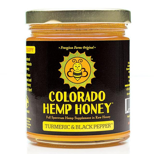 Colorado Hemp Honey - Turmeric & Black Pepper Honey