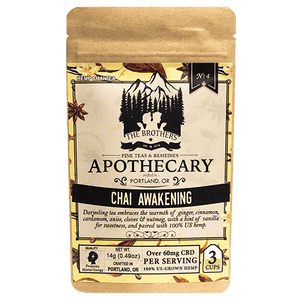 Brother's Apothecary Chai Awakening CBD Tea