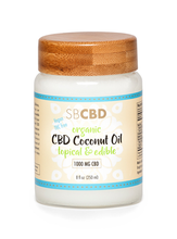 Load image into Gallery viewer,  SBCBD Organic Coconut Oil