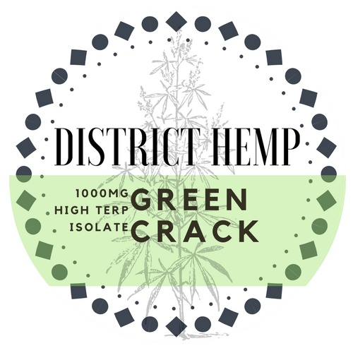 District Hemp 1000mg Shatter