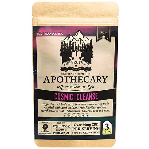 Brother's Apothecary Cosmic Cleanse CBD Tea