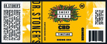 Load image into Gallery viewer, Dr. Stoner's CBD Ginger Tincture