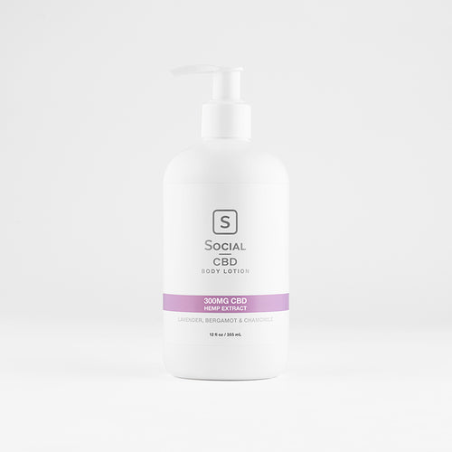 Social CBD - Rest CBD Body Lotion