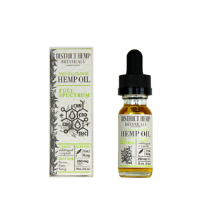 District Hemp Full Spectrum 250mg Tincture