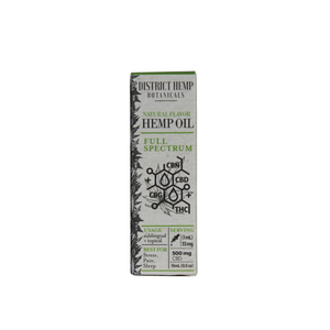 District Hemp Full Spectrum 500mg Tincture