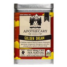 Load image into Gallery viewer, Brother's Apothecary Golden Dream CBD Tea