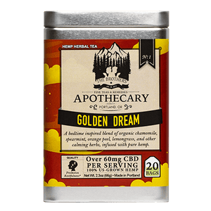 Brother's Apothecary Golden Dream CBD Tea