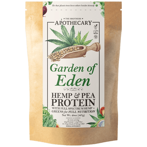 Brother's Apothecary Garden of Eden Superfood | CBD Protein Powder