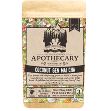 Load image into Gallery viewer, Brother's Apothecary Coconut Genmaicha | Hemp CBD Tea