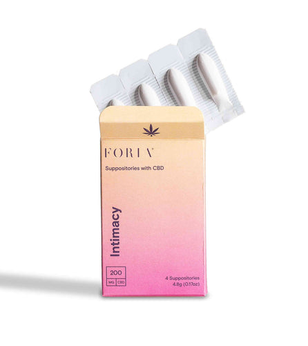 Foria Intimacy Suppositories with CBD