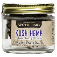 Load image into Gallery viewer, Brother's Apothecary Kush Hemp CBD Flower