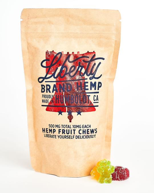Liberty CBD 500mg Hemp Fruit Chews