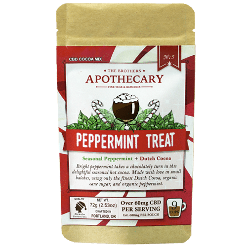 Brother's Apothecary Peppermint Treat | CBD Peppermint Cocoa