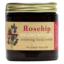 Load image into Gallery viewer, Brother's Apothecary Renewing CBD Face Cream | Rosehip, Hibiscus, & Aloe