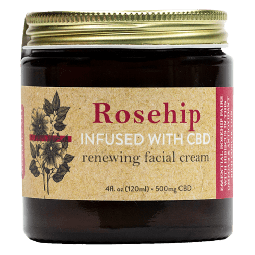 Brother's Apothecary Renewing CBD Face Cream | Rosehip, Hibiscus, & Aloe