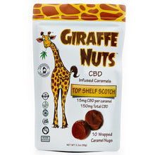 Load image into Gallery viewer, Giraffe Nuts Infused Caramels