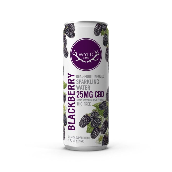 Wyld - Blackberry CBD Infused Seltzer