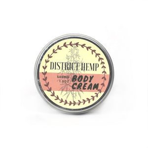 District Hemp Body Cream