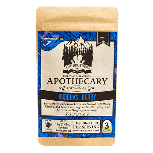 Brother's Apothecary Buddha's Berry CBD Tea