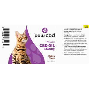 cbdMD Oil Tincture Drops for Cats