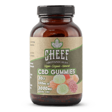 Load image into Gallery viewer, Cheef Botanicals Vegan CBD Gummies