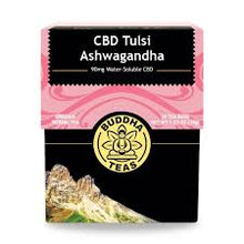 Load image into Gallery viewer, Buddha Teas Tulsi Ashwagandha CBD Tea