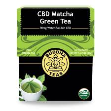 Buddha Teas Matcha Green CBD Tea