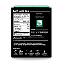 Load image into Gallery viewer, Buddha Teas Peppermint CBD Tea
