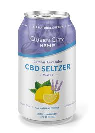 Queen City Hemp Seltzer Water