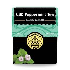 Buddha Teas Peppermint CBD Tea