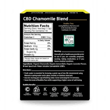 Load image into Gallery viewer, Buddha Teas Chamomile Blend CBD Tea