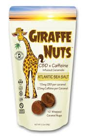 Giraffe Nuts - Atlantic Sea Salt