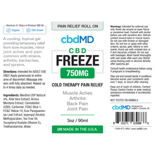 cbdMD Freeze Roll-on