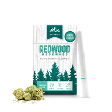 Load image into Gallery viewer, Redwood Reserves Menthol CBD Cigarettes
