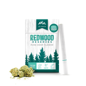 Redwood Reserves Menthol CBD Cigarettes