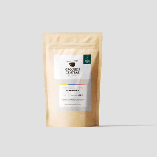 District Hemp CBD Whole Bean Coffee - Colombian