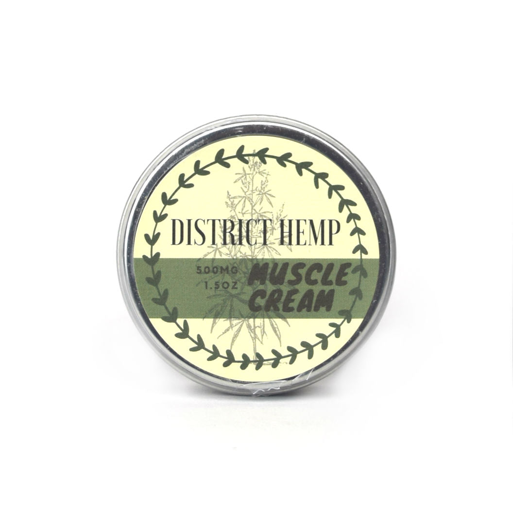 District Hemp 500mg 1.5oz Muscle Cream