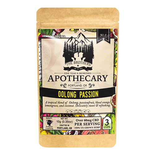 Brother's Apothecary Oolong Passion CBD Tea
