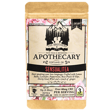 Load image into Gallery viewer, Brother's Apothecary Sensualitea CBD Tea