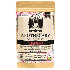 Brother's Apothecary Sensualitea CBD Tea