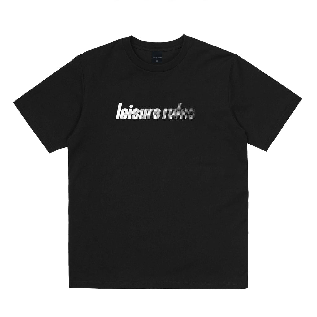 Leisure Rules Sport Logo T-Shirt - Black