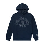 Cycling Club Pullover Hoodie(Made in USA) - Navy
