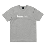 Leisure Rules Sport Logo T-Shirt - Grey