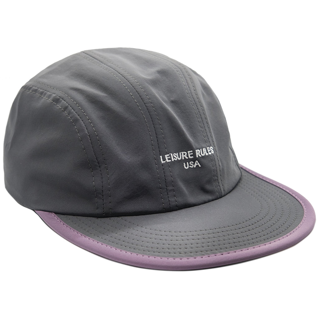 Logo Nylon Technical Hat - Stone